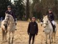 Kevin, Tanguy et Anne-Sophie à la remise des prix